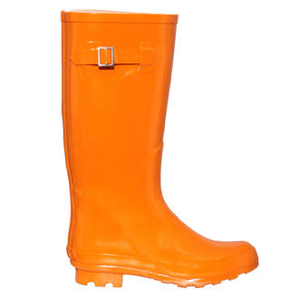View Item Orange Wellington Boot